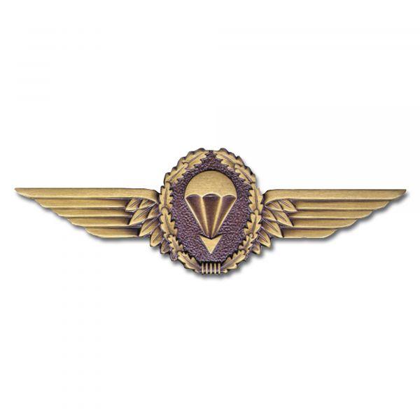 Insigne métallique Fallschirmspringer BW bronze