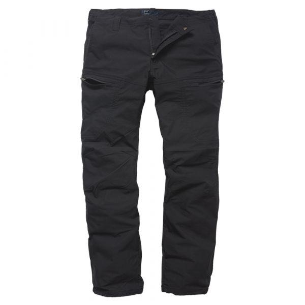 Vintage Industries Pantalon Kenny Technical Pants noir
