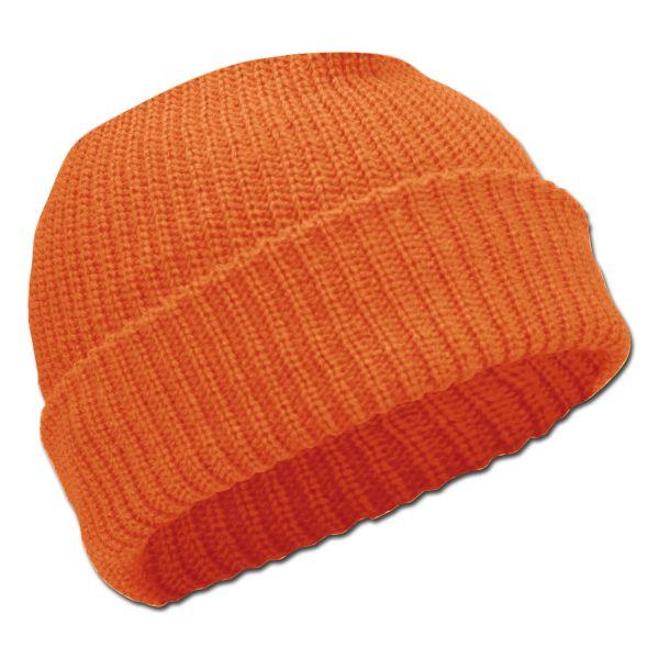 Bonnet Acrylique orange