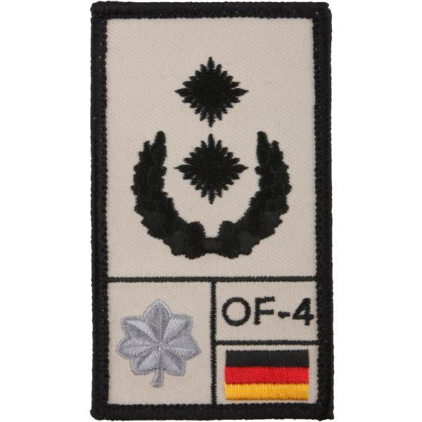 Café Viereck Patch Grade Oberstleutnant sable