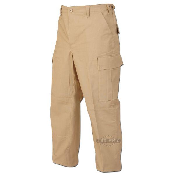 Pantalon treillis BDU Tru-Spec beige R/S
