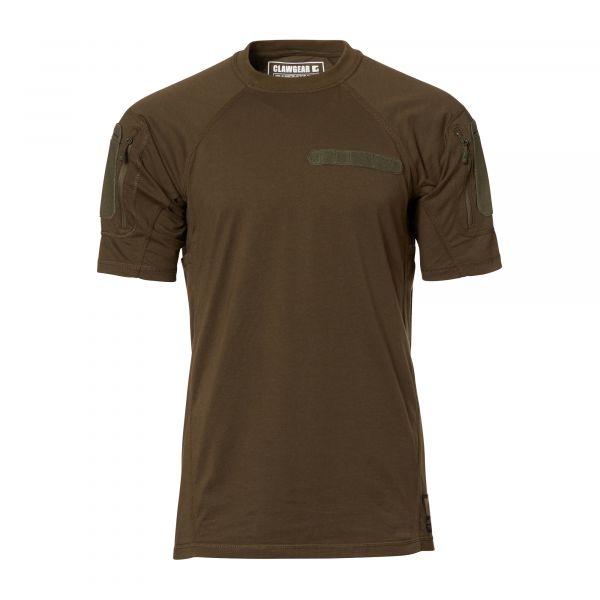 ClawGear T-Shirt Instructor MK II gris pierre olive