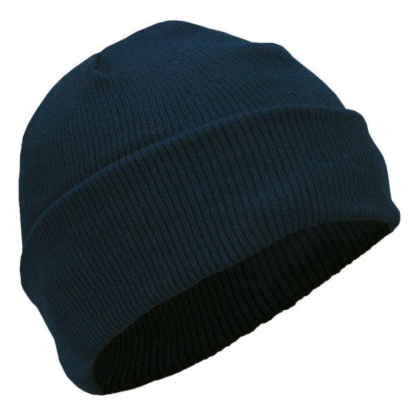 Bonnet acrylique marine