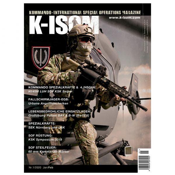 Magazine commando K-ISOM Édition 01-2020