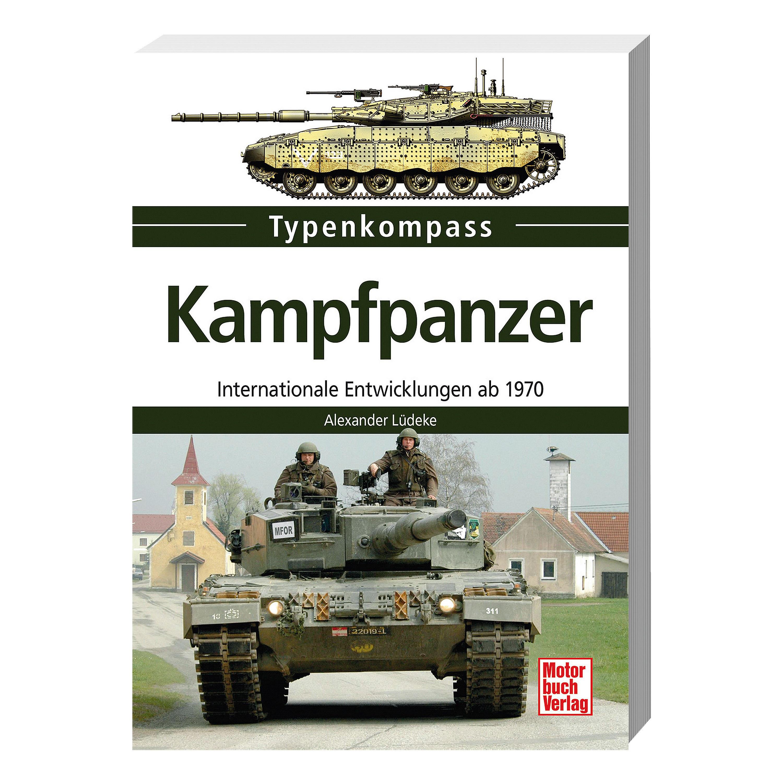 """Livre """" Kampfpanzer - Internationale Entwicklungen seit 1970"""""""