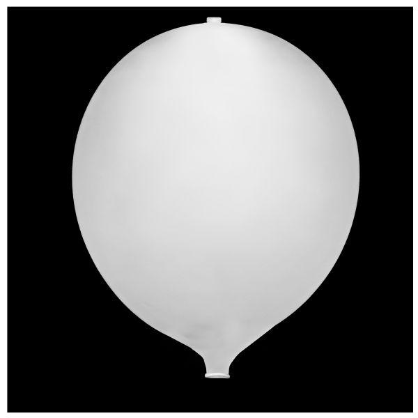 KNIXS Tac Ballon blanc LED clignotante blanche