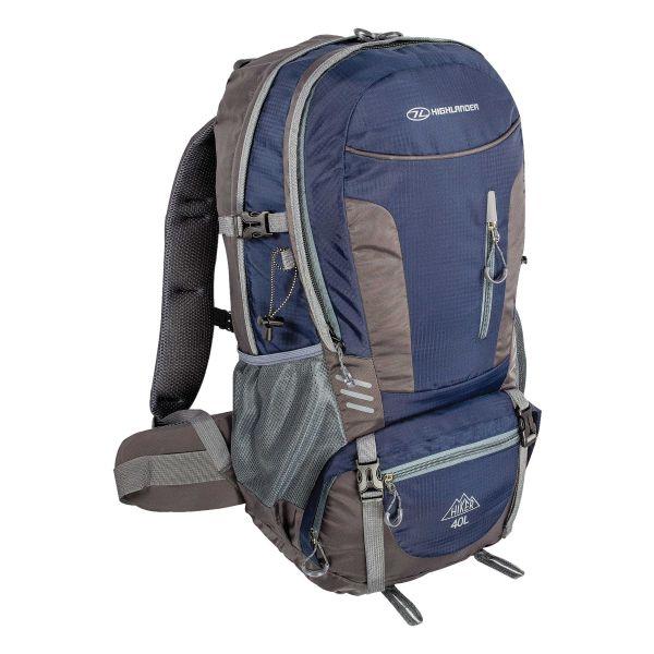 Sac à Dos Highlander Hiker 40 L bleu-gris