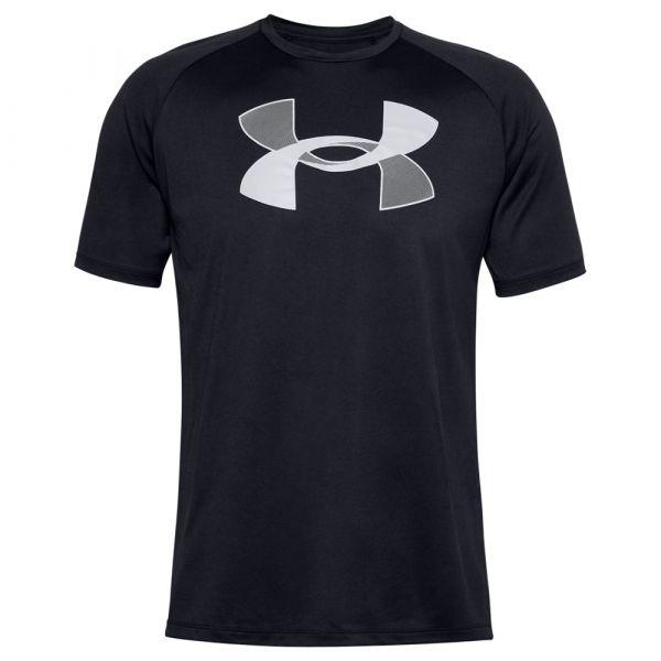 Under Armour T-Shirt Big Logo Tech SS noir