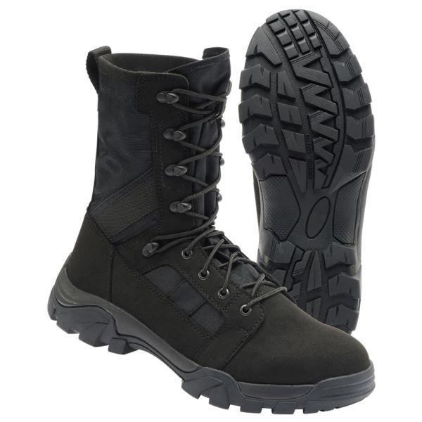 Brandit Bottes Defense Boots noir