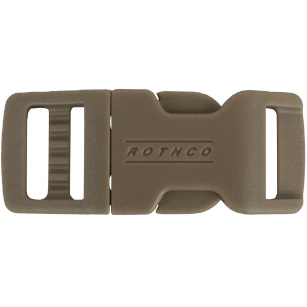 Rothco 1/2 Side Release Boucle Clip tan