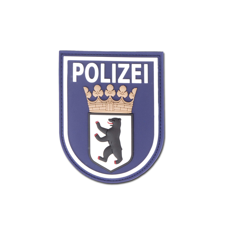 Patch 3D Polizei Berlin bleu