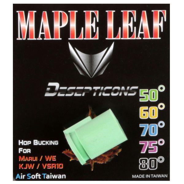 Maple Leaf Hop-Up caoutchouc Decepticons 50 degrés pour GBB vert