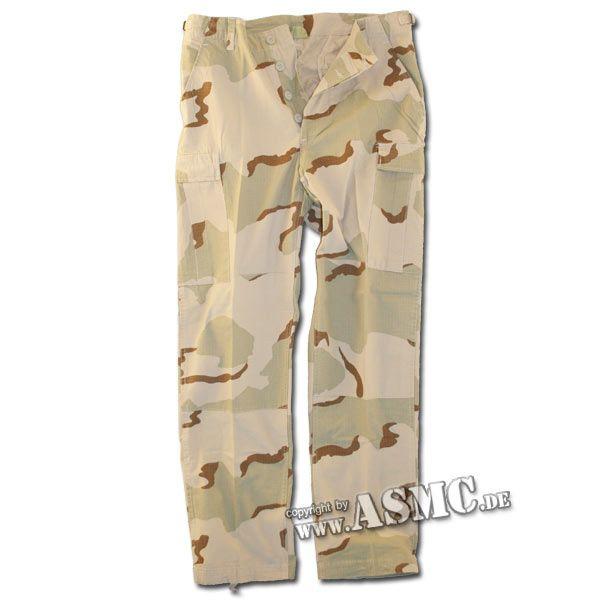 Pantalon BDU Style désert Ripstop pré-lavé