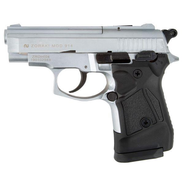 Zoraki Pistolet d'alarme 914 chrome mat