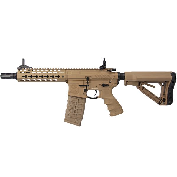 G&G Fusil Airsoft CM16 E.T.U. SRS S-AEG desert