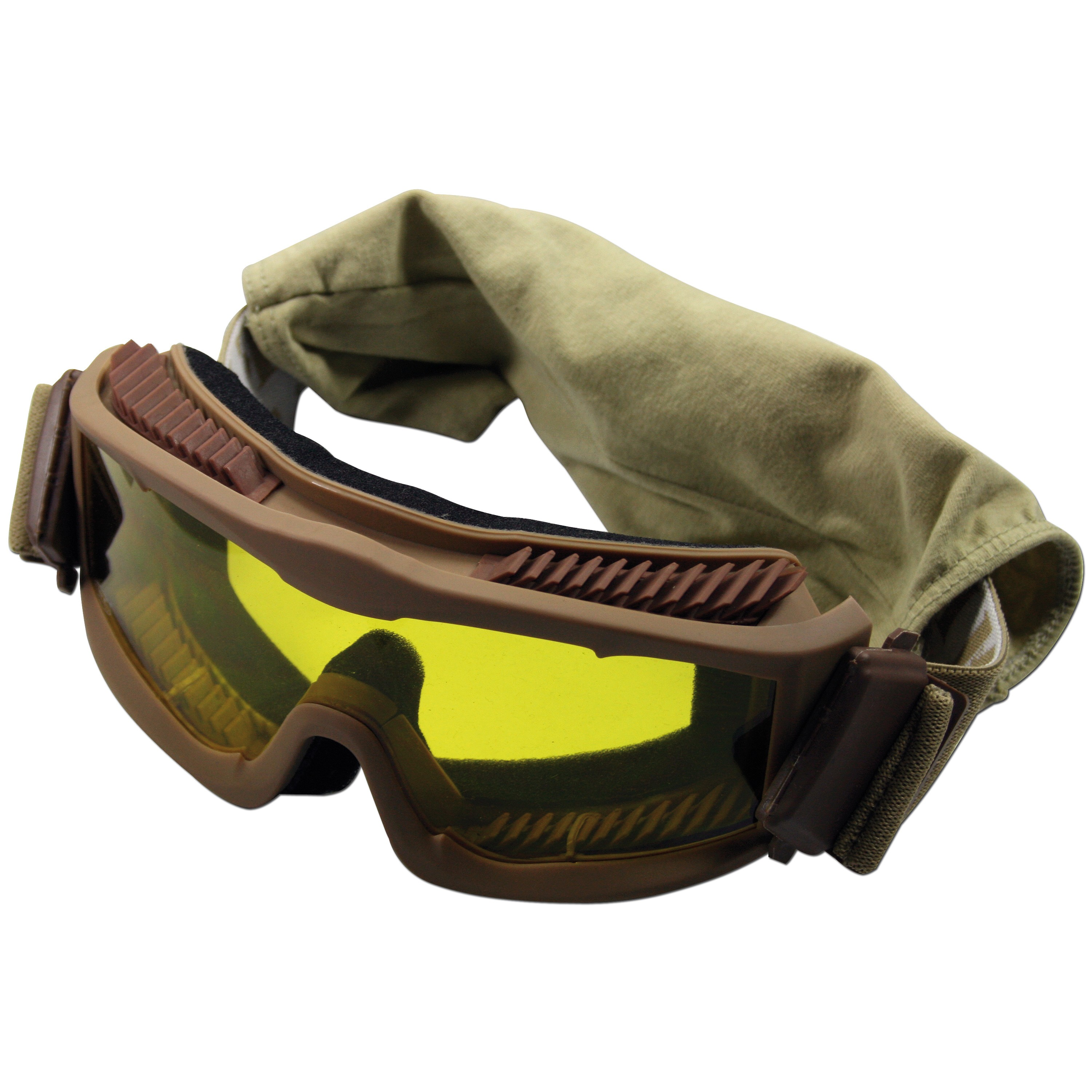 Lunettes de protection Thunder deluxe MFH coyote