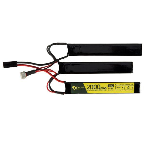 Electro River Li-Po 11.1 V 2000 mAh Triple Stick 25/30 Tamiya