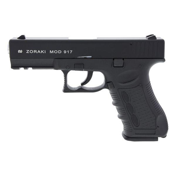 Zoraki Pistolet d'alarme 917 bruni/chromé
