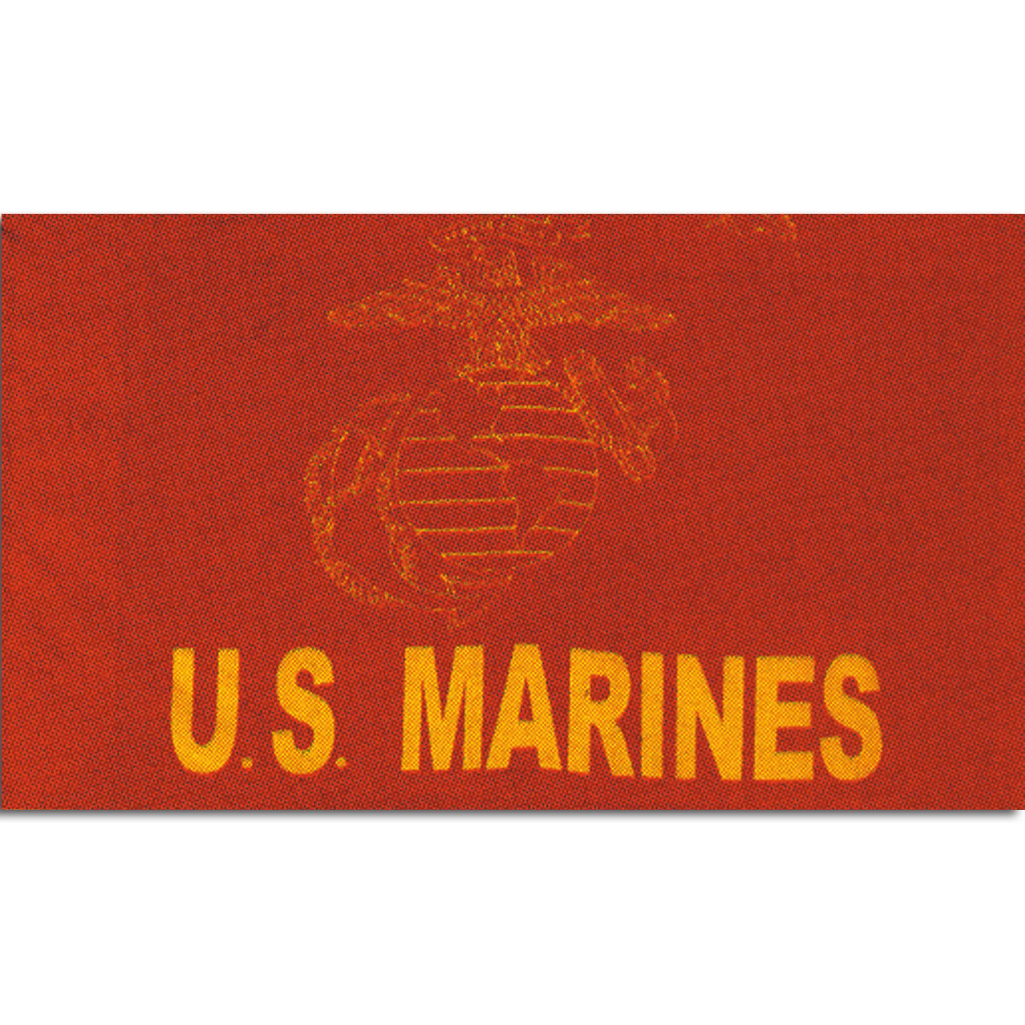 Drapeau US Marines rouge