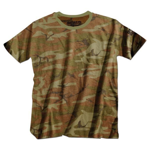 T-Shirt Alpha Industries Bodywear woodland
