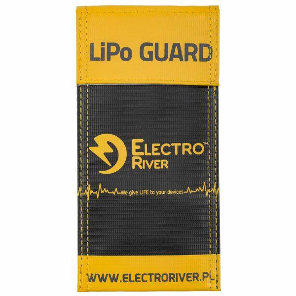Electro River Pochette de sécurité Li-Po Safety Bag-S noir jaune