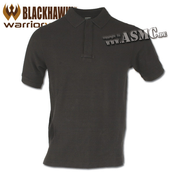 Polo Blackhawk Cotton noir