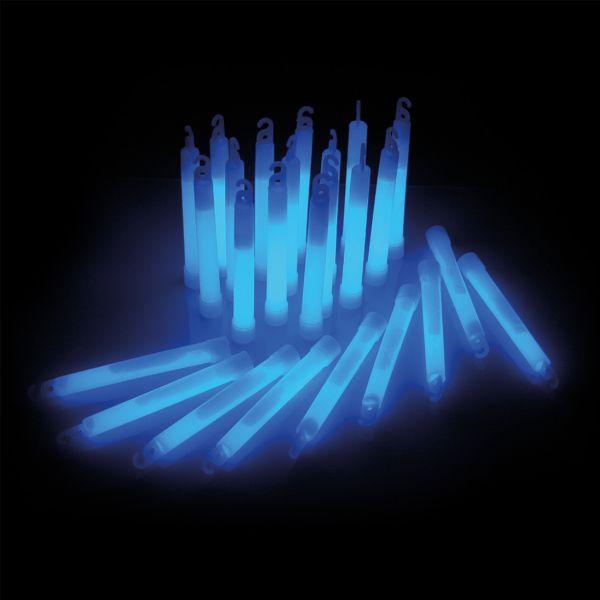 KNIXS Bâtons lumineux Power bleu lot de 25