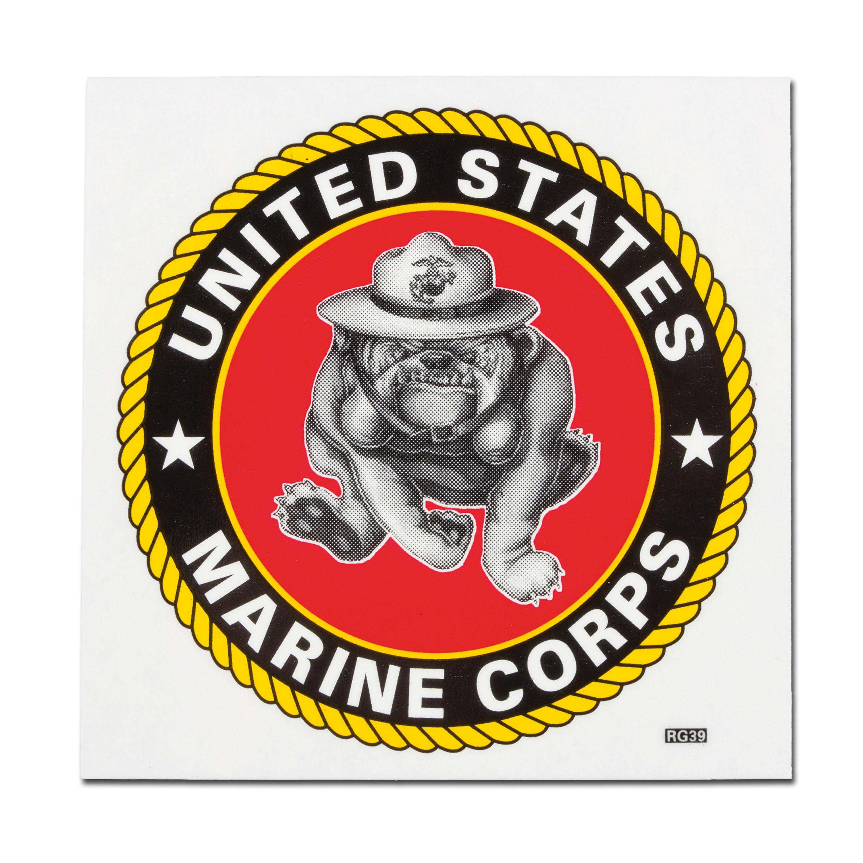 Autocollant USMC Bulldogge