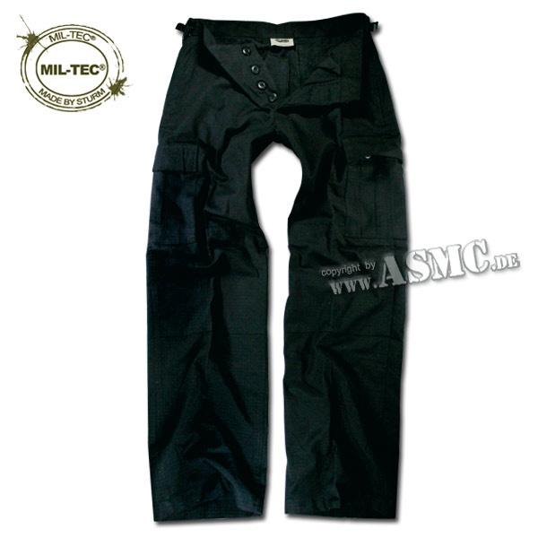 Pantalon BDU pour femmes noir Ripstop