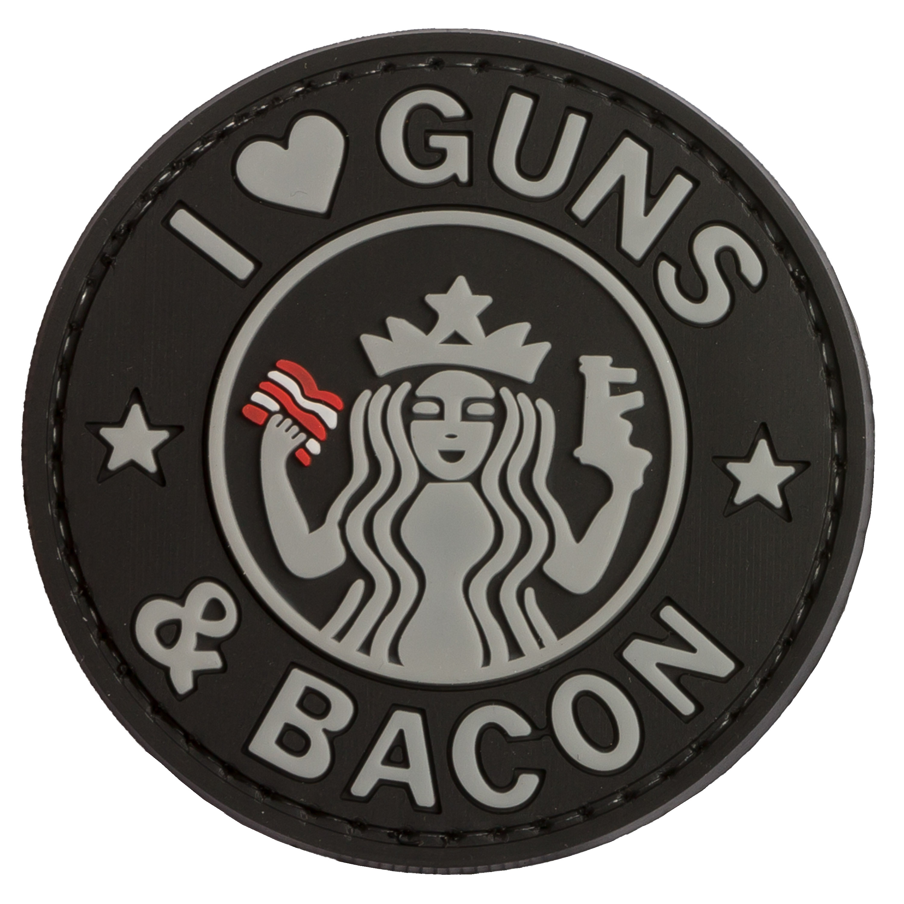 Patch 3D Guns and Bacon TAP swat