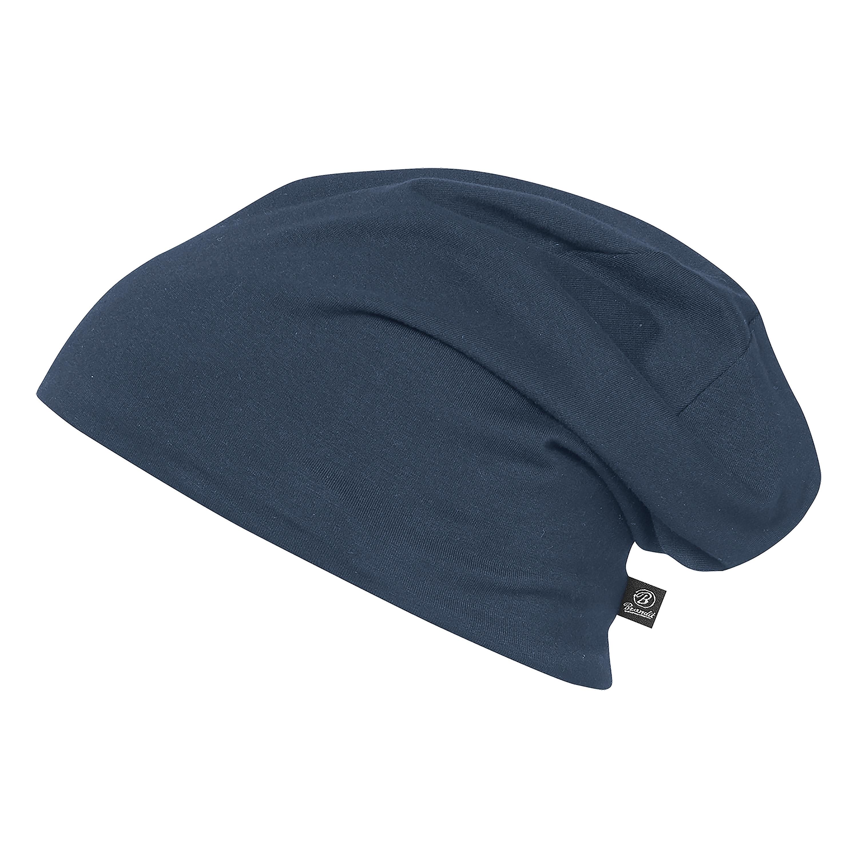 Bonnet Brandit Jersey bicolor bleu-gris