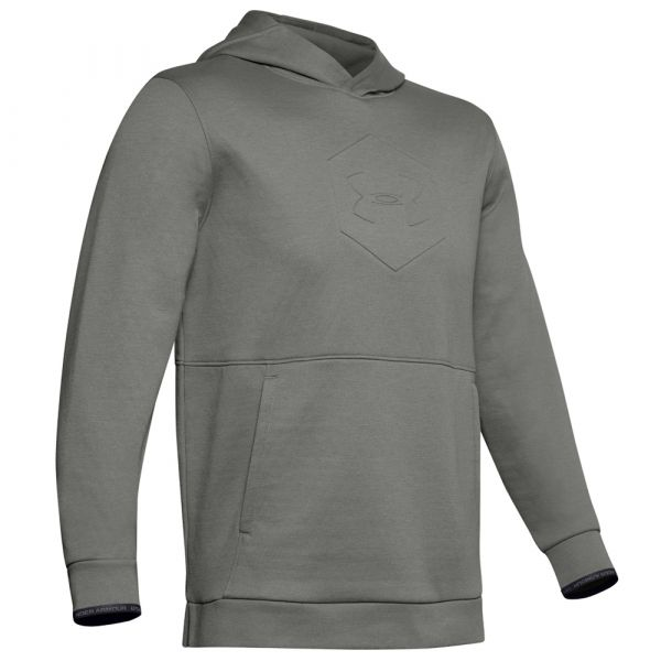 Under Armour Sweat Athlete Recovery Fleece Graphic gravity green