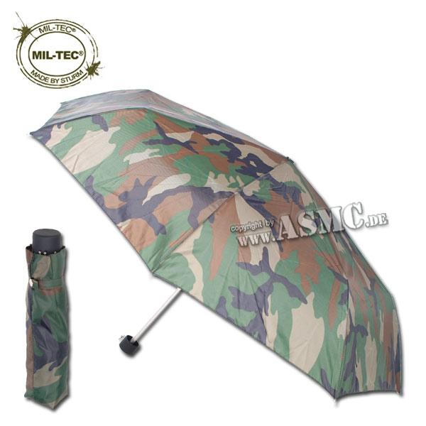 Parapluie de poche woodland