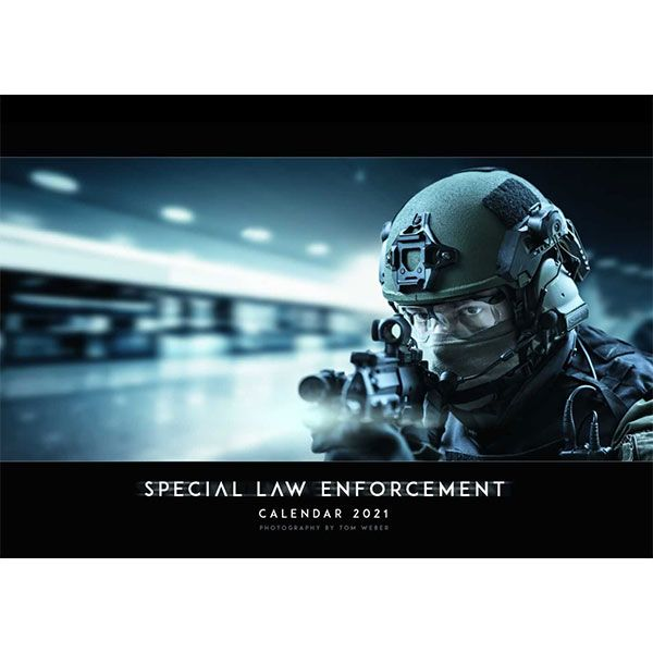 Milpictures Calendrier mural 2021 Special Law Enforcement A2