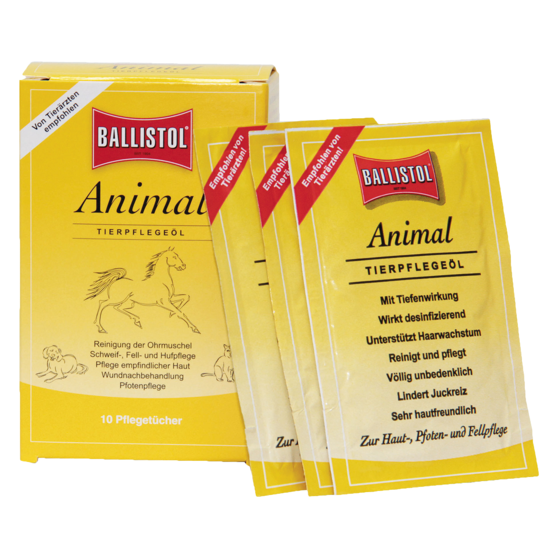 Lingettes Ballistol Animal boîte de 10