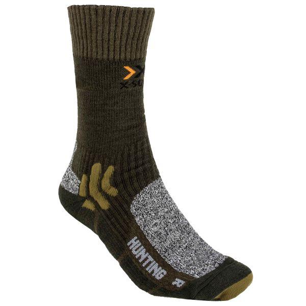 X-Socks Chaussettes Courtes Hunting Short vert