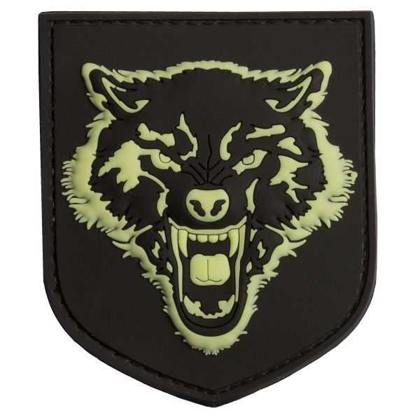 Patch 3D TAP loup luminescent
