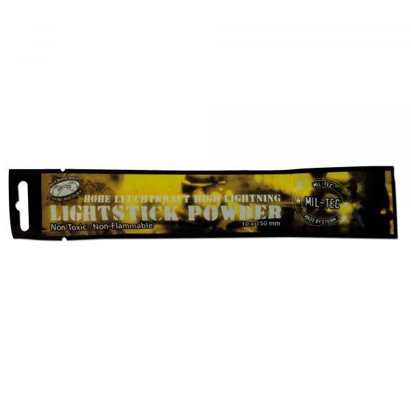 Bâton lumineux Mil-Tec Powder 48 heures jaune