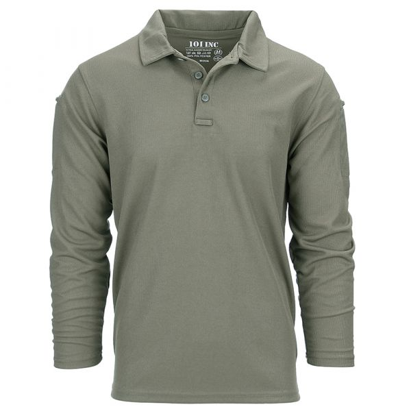 101 Inc. Polo Tactical Quickdry long olive