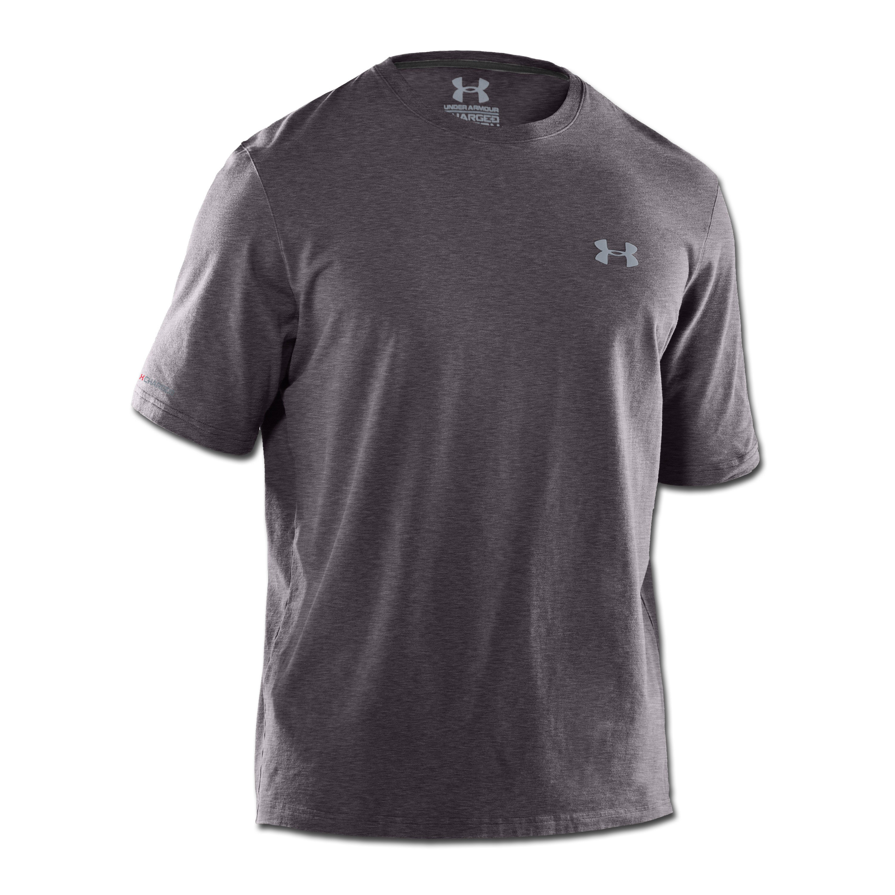 T-Shirt Under Armour HeatGear Charged Cotton anthracite