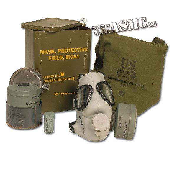 Masque à gaz US M9A1