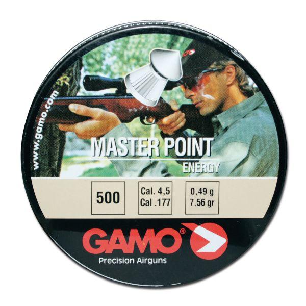 Plombs Gamo Masterpoint 4,5 mm 500 pcs