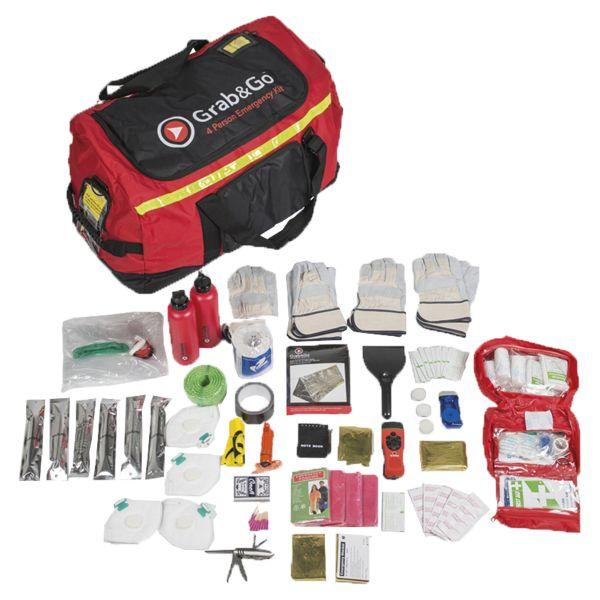 Grab&Go Emergency Kit pour 4 personnes