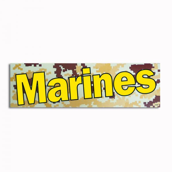 Autocollant Marines digital desert