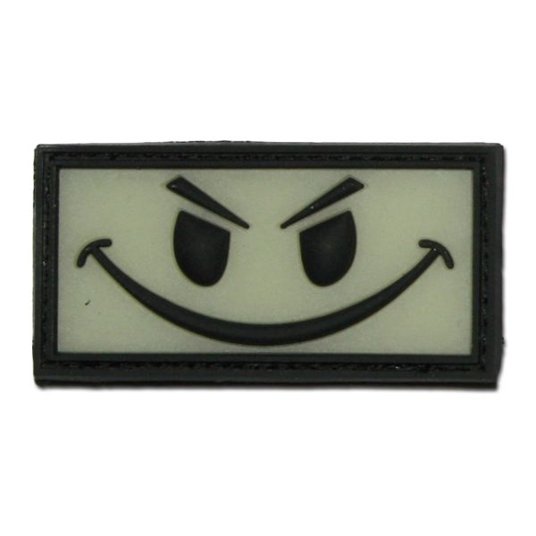 3D-Patch Evil Smiley luminescent