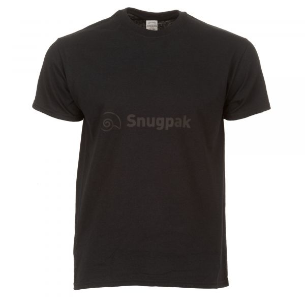 Snugpak T-Shirt Logo Cotton noir