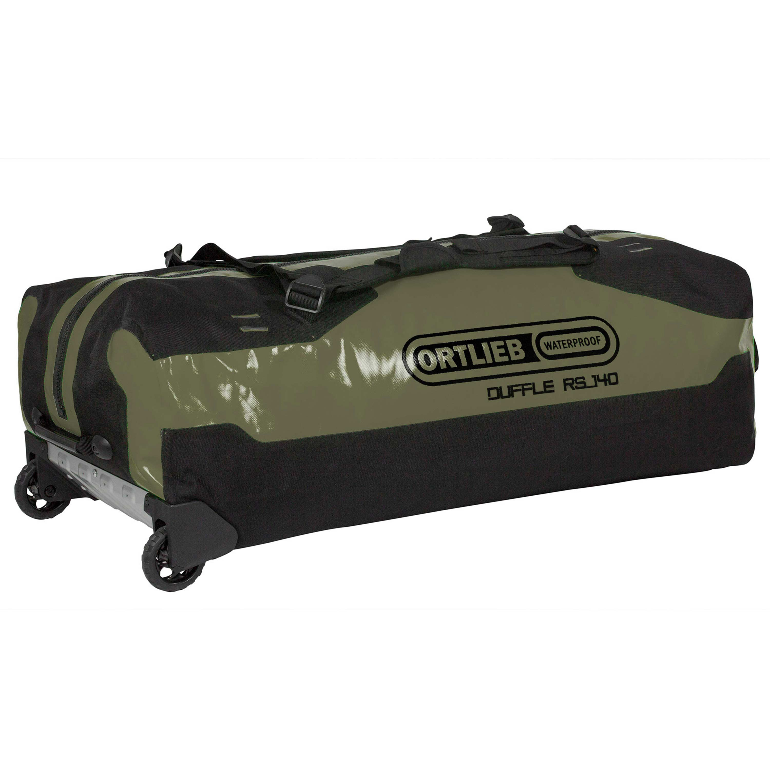 Ortlieb Sac à roulettes Duffle RS 140 litres olive