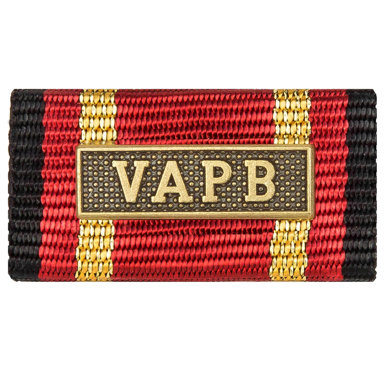 Ordensspange Auslandseinsatz VAPB bronze
