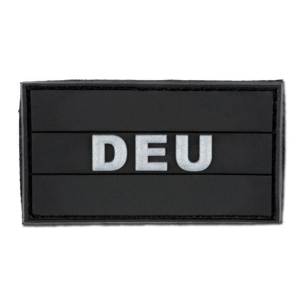 Patch 3D DEU noir