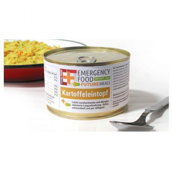 EF Emergency Food Ragoût de pommes de terre conserve